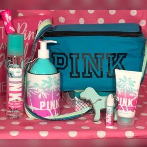 Pink Victorias Secret Beauty Beach Bundle🌴